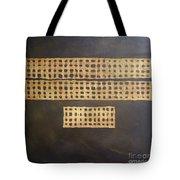 Golden Coin Number 3 Tote Bag
