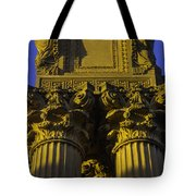 Golden Columns Palace Of Fine Arts Tote Bag