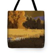 Golden Cottonwood Tote Bag