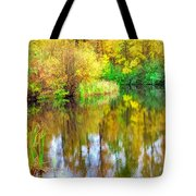 Golden Creek Tote Bag