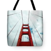 Golden Crossing - Golden Gate Bridge San Francisco Tote Bag