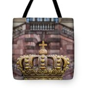 Golden Crown Tote Bag