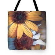 Golden Daisies Tote Bag