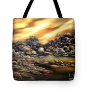 Golden Daze.sold Tote Bag by Cynthia Adams