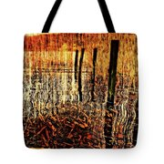 Golden Decay Tote Bag