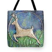 Golden Deer Tote Bag
