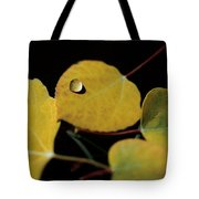 Golden Drop Tote Bag