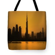 Golden Dubai Tote Bag