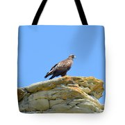 Golden Eagle Lookout Tote Bag