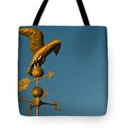 Golden Eagle Weather Vane Tote Bag