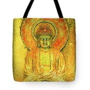 Golden Enlightenment Tote Bag