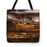 Golden Falls Tote Bag