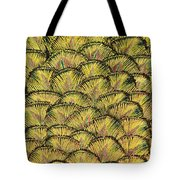 Golden Feathers Tote Bag