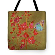 Golden Fireweed Tote Bag