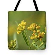 Golden Flattop Tote Bag