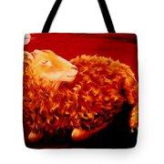 Golden Fleece Tote Bag