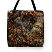 Golden Flow Tote Bag