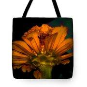 Golden Flower Tote Bag