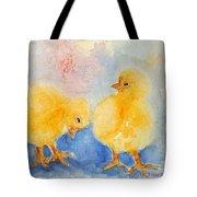 Golden Fluff Tote Bag