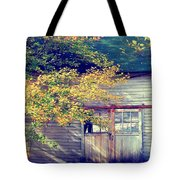 Golden Fall Foliage  Tote Bag