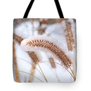 Golden Foxtail Tote Bag