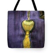 Golden Fringe Tote Bag