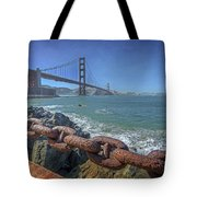 Golden Gate Bridge Tote Bag by Everet Regal