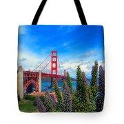 Golden Gate Bridge Five Tote Bag