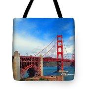 Golden Gate Bridge Four Tote Bag