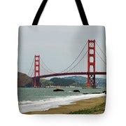 Golden Gate Bridge From Baker Beach Tote Bag