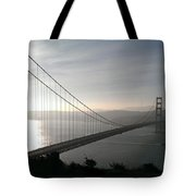 Golden Gate Bridge From Marin County Tote Bag