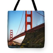 Golden Gate Bridge Sausalito Tote Bag by Doug Sturgess