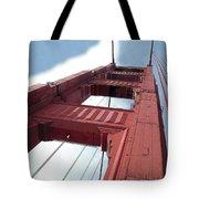 Golden Gate Bridge Tower Tote Bag
