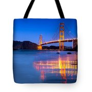 Golden Gate Dreams Tote Bag