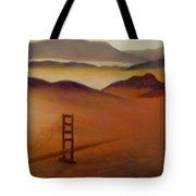 Golden Gate Fog Tote Bag