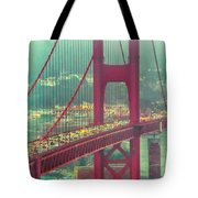 Golden Gate Portrait Tote Bag