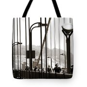 Golden Gate Suspension Tote Bag