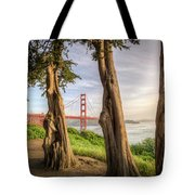 The Trees Of The Golden Gate Tote Bag