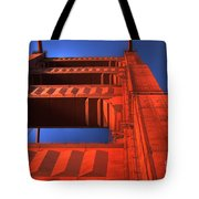 Golden Gate Tower Tote Bag