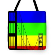 Golden Gay Tote Bag