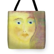 Golden Girl Tote Bag by Kim Nelson