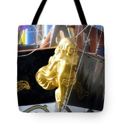 Golden Girl Of Gasparilla Tote Bag