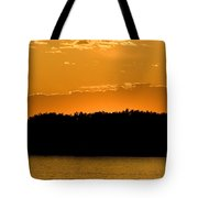 Golden Glow Sunset Tote Bag