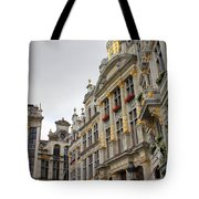Golden Grand Place Tote Bag