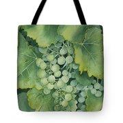 Golden Green Grapes Tote Bag