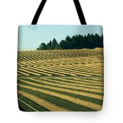 Golden Green Tote Bag