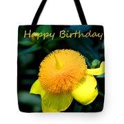 Golden Guinea Happy Birthday Tote Bag