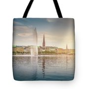 Golden Hamburg Tote Bag