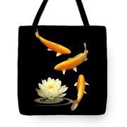 Golden Harmony Vertical Tote Bag