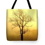 Golden Haze Tote Bag